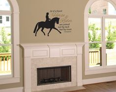 Dressage Rider horse decal  equestrian decor  by thelatestBuzz, $25.00