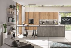 Keuken I Industrieel I Grey I Wood I