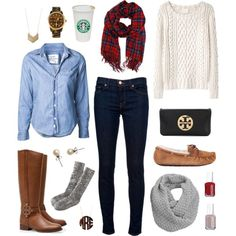 """""""Fall"""" by classically-preppy on Polyvore"""