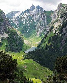 Hoher Kasten (Alpstein), Appenzellerland, Switzerland