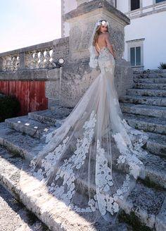 Black Wedding Gowns, Sheer Wedding Dress, Top Wedding Dresses, Amazing Wedding Dress, Fit And Flare Wedding Dress, Wedding Dress Trends, Wedding Bride, Bridal Dresses, Bridesmaid Dresses