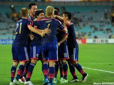 2015/1/23 JAPAN vs UAE  at Sydney  アジア杯3戦目 後半、柴崎岳の同点ゴール