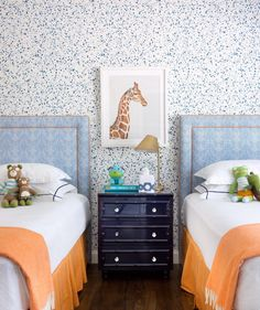 Inspiration for Gabe's Bedroom: Classic Decorating for Little Boys - Katie Considers Big Girl Rooms, Kid Rooms, Childrens Rooms, Toddler Rooms, Baby Rooms, Toddler Bed, Kids Room Design, New Room, Girls Bedroom