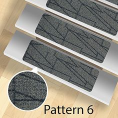 13 Stair Treads   Indoor And Outdoor Use   Peel And Stick   (Pattern 6