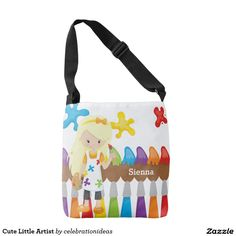 Sold #Cute #Little #Artist #CrossbodyBag Available in different products. Check more at www.zazzle.com/celebrationideas