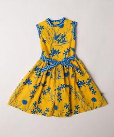 Llum Silouette Floral Barceloneta Dress - Toddler & Girls #zulily *cute!