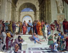 12027 - Vatican - Raphael Rooms - School of Athens | Flickr - Photo Sharing!