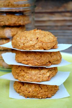 pumpkin oatmeal cookies - corn, dairy, gluten, soy free and vegan