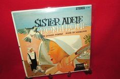 "Vintage Vinyl Album ""Sister Adele sings Dominique"" by trackerjax on Etsy Used Vinyl, Lps, Adele, Singing, Sisters, Album, Songs, Unique Jewelry, Handmade Gifts"