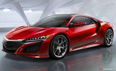2015 Honda NSX - a little bit too furistic but some design aspects are interesting. (H)