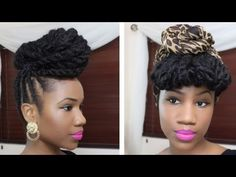 Braided Updo Hairstyle on Natural Hair [Video] - http://community.blackhairinformation.com/video-gallery/braids-and-twists-videos/braided-updo-hairstyle-natural-hair-video/