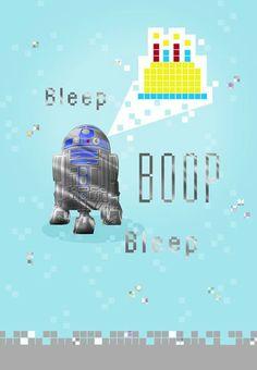 R2 D2TM Birthday Card Hallmark CardsBirthday