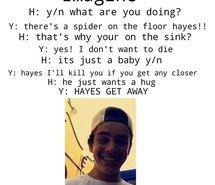 Image result for hayes grier imagines