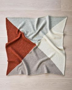 Warm Earth Tones Easy Baby Blanket | AllFreeCrochetAfghanPatterns.com
