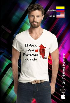 Diseños Exclusivos - Camisetas Cristianas Control, Mens Tops, Jackets, Outfits, Clothes, Fashion, Block Prints, Amor, Sweatshirts