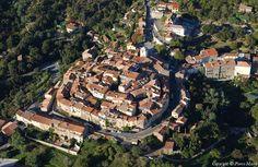Ramatuelle ~ Provence ~ Alpes-Côte d'Azur ~ France Saint Tropez, Provence, France City, Destination Voyage, Toscana, Aerial Photography, Aerial View, Old Town, Trip Planning