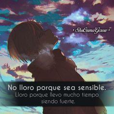 Sad Anime, Otaku Anime, Anime Love, Kawaii Anime, Positive Phrases, Motivational Phrases, I Am Sad, Sad Love, Anime Triste