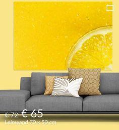 Neu in meiner Galerie bei OhMyPrints: Zitrone,abstrakt