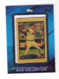 Mike Minor 2012 Topps Silk Collection #12/50 - Atlanta Braves - Free Shipping