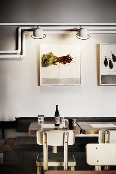 lighting is so important for your canvas prints. This is an interesting way to make your lighting part of your interior design