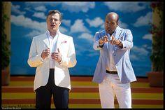 Marc Marshall, Jay Alexander, Marshall und Alexander, live im Rahmen eines Liveauftritts am 08.07.12 bei der TV Show Immer wieder Sonntags in Rust (Europapark)....... by Martin Black - Concertphotography, via Flickr