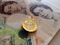 One british pound, new type 2017