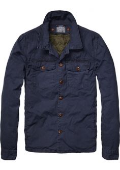 Scotch & Soda Shirt Jacket Detachable Inner