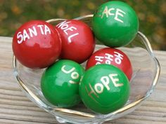 Christmas Globes Centerpiece by