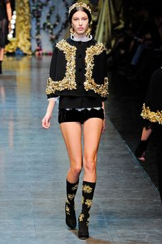 Dolce & Gabbana Fall 2012 RTW - Look 2