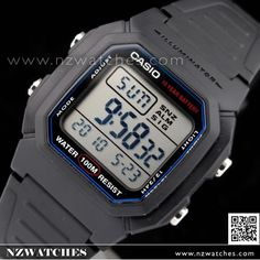 Casio Mens Multi Alarm Digital Watch W-800H-1AV 6393008f5feb