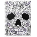 Skull monograms notebook #halloween #happyhalloween #halloweenparty #halloweenmakeup #halloweencostume