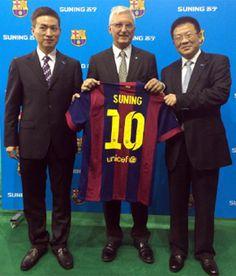 El Barça cierra el primer acuerdo de patrocinio regional con una empresa china