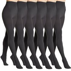 Angelina 6-Pack Super Warm Brushed Interior Thermal Tights, 009_6_Black ** This is an Amazon Affiliate link. Check out the image by visiting the link.