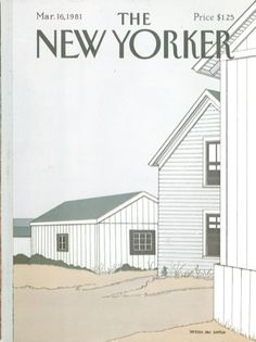 Collecting my favorite covers from the New Yorker is my hoarding secret. I just love them.