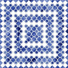 Free Quilt Patterns to Print | All About Inklingo » Blog Archive » Easy On-Point Quilt Pattern