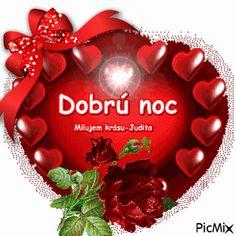 dobrú noc Good Night, Good Morning, Create Yourself, Christmas Bulbs, Album, Facebook, Holiday Decor, Birthday, Quotes