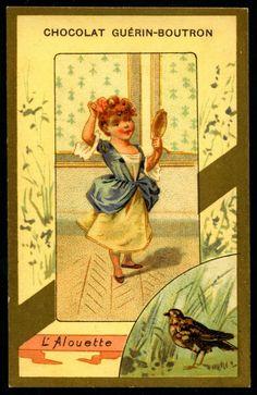 Chocolat Gurein-Boutron Trade Cards, 1900