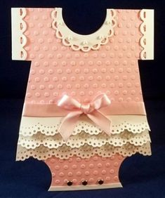 WT370 Baby Girl Ruffles by jaydekay - Cards and Paper Crafts at Splitcoaststampers