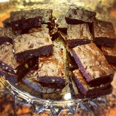 Paleo Brownies, great for those with celiac disease or gluten intolerant!