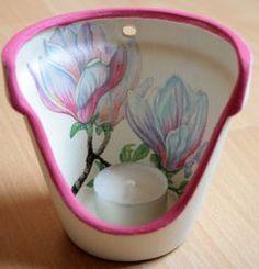 Windlicht Magnolie  http://bastelzwerg.eu/zartes-Blumen-Windlicht-Magnolien?source=2&refertype=1&referid=5