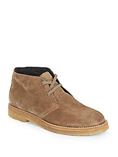 Vince - Clay Suede Ankle Boots