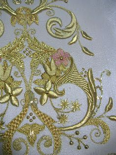 Gold work. Another detail from Sebastián Marchante.
