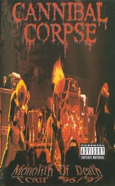 Cannibal Corpse - Monolith Of Death at Discogs Video