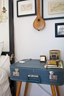 DO THE DESIGN: How to reuse old Suitcase