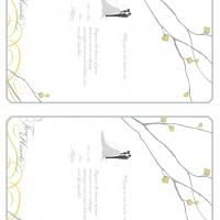 Give a like for free printable wedding invites!