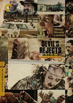 THE DEVIL'S REJECT (2005) by Rob Zombie #horror Criterion #poster