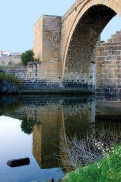 Puente del Arzobispo Toledo   España. Spain