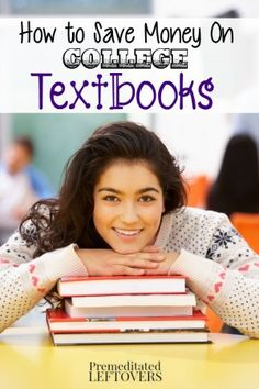 How to Save Money on College Text Books - Money saving tips including where to buy used text books, where to rent college books, and swapping text books.
