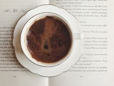 Books and coffee just go together.