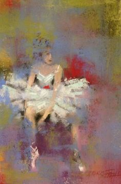 the Dancer-beautiful, simply beautiful Dance Paintings, Pastel Paintings, Pastel Art, Watercolor Paintings, Pastel Crayons, Pastel Landscape, Pastel Portraits, Illustration Art, Illustrations